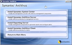 Symantec AntiVirus Corporate Edition
