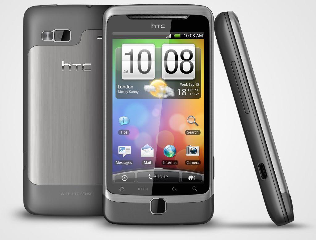 Twee desire smartphones van htc met vernieuwde sense