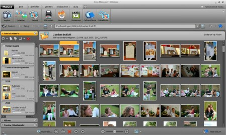 MAGIX Foto Manager Deluxe: interface