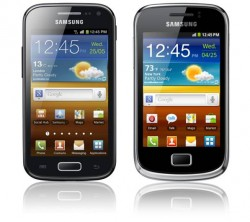 Samsung Galaxy Ace 2 en Galaxy mini2