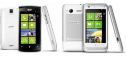 Acer Allegro M310 en HTC Radar C110e