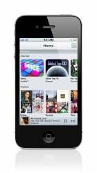 Music Ulimited als app op de iPhone