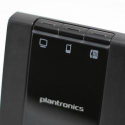 Met de Savi 740 kan je eenvoudig schakelen tussen gesprekken op je vaste telefoon, mobiele telefoon en pc
