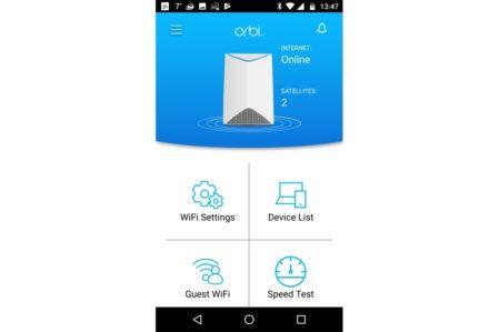 Netgear Orbi Pro app