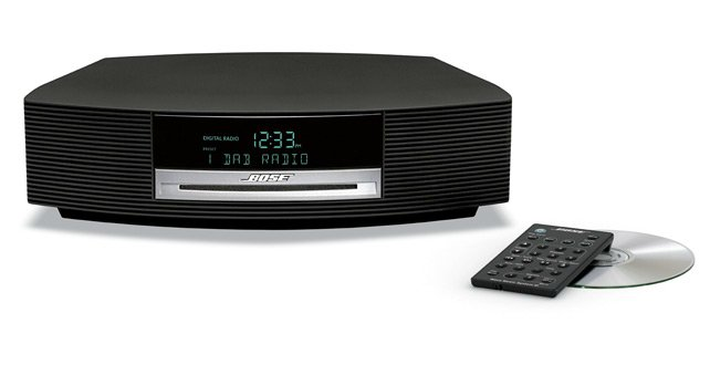 Compacte muzieksystemen van Bose met DAB-functionaliteit