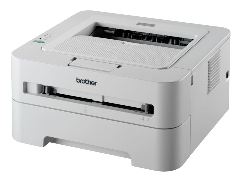 Zwart-wit laserprinter voor draadloos netwerk van Brother