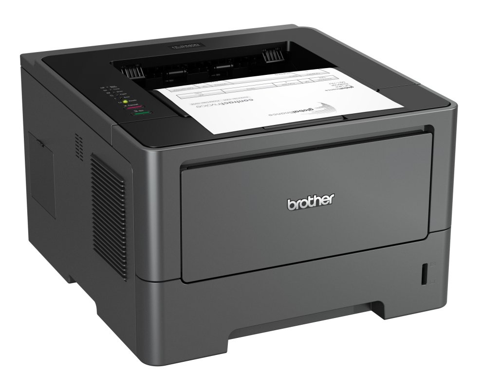 Monochrome laserprinters drukken standaard ook dubbelzijdig