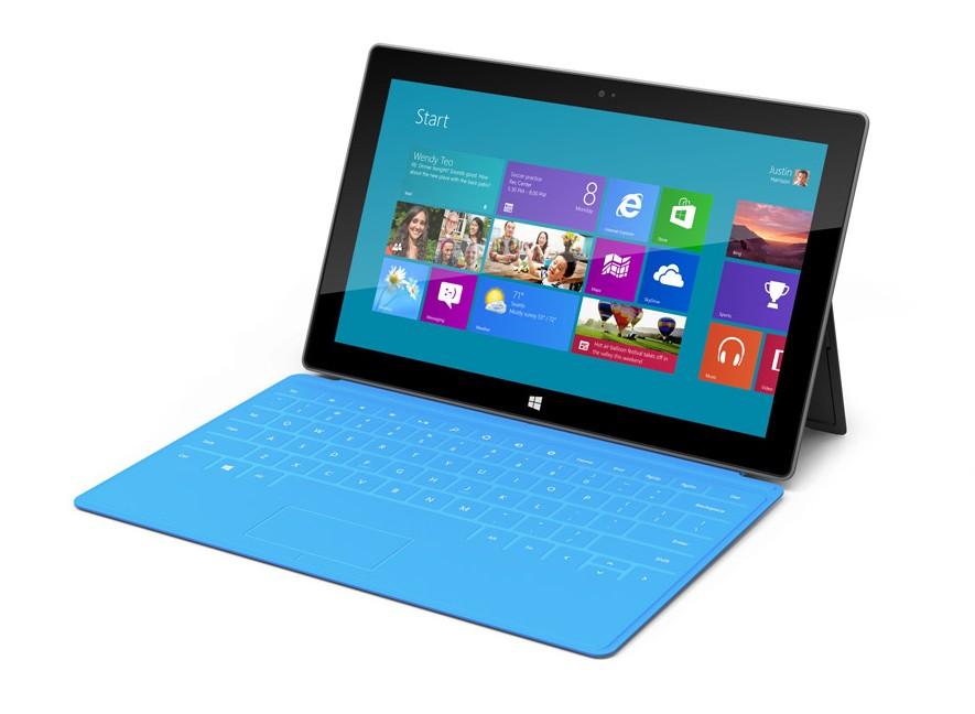 Microsoft lanceert twee 10,6-inch Windows tablet-pc's