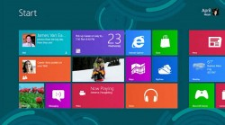 Metro interface van Windows 8