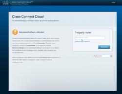Via Cisco Connect Cloud kan je het netwerk ook beheren vanaf een lokale computer