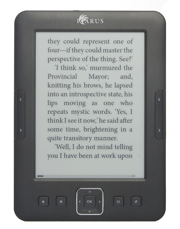 Icarus8 e-reader | DISKIDEE