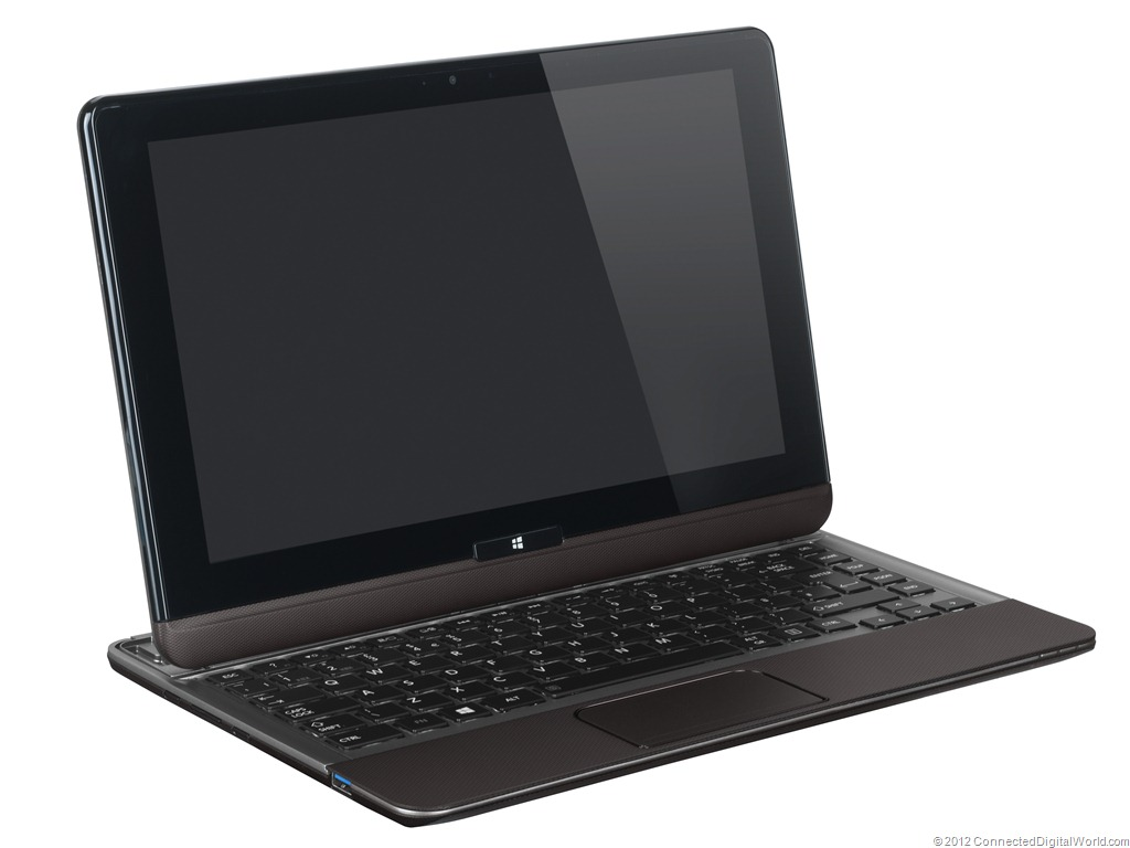 Toshiba combineert Windows 8 Ultrabook en tablet