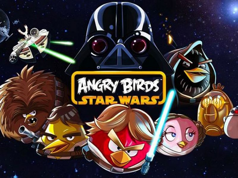 Angry Birds nu ook in Star Wars-versie