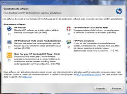 HP PhotoSmart 7520 software installeren