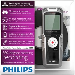 Philips Voice Tracer DVT7000 in verpakking