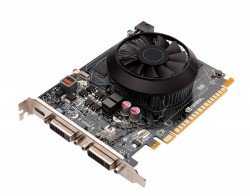 Referenciekaart van de Geforce GTX 650