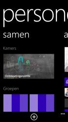 Windows Phone 8: personen app