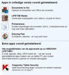 Op Google Play vind je natuurlijk nog duizenden apps voor jouw tablet