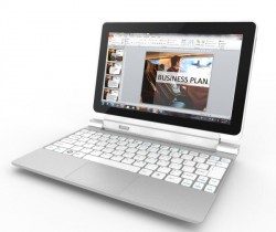 Iconia Tab W510 met toetsenborddock