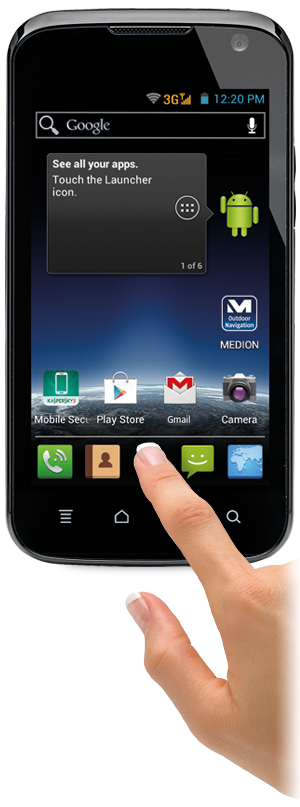 Goedkope Android 4.0 smartphone bij Aldi Belgi