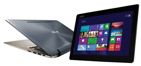 Asus Transformer Book combineert Windows 8 laptop en tablet