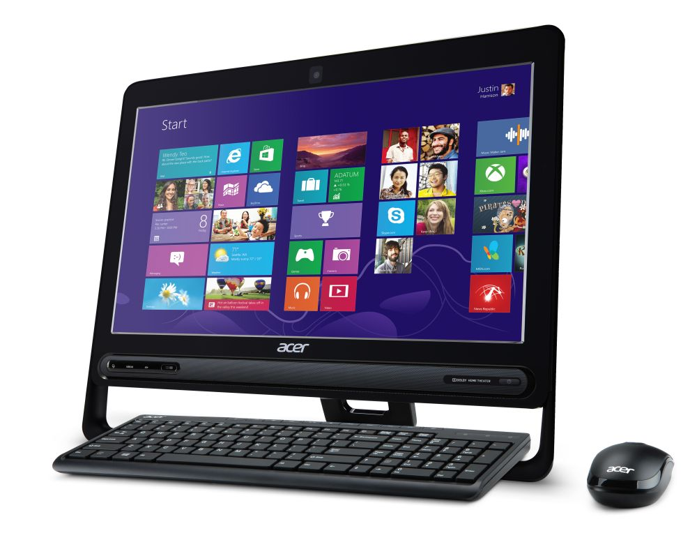 Acer multimediacomputer in all-in-one ontwerp