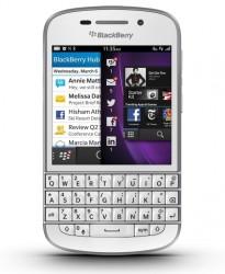 Blackberry Q10 ook in het wit