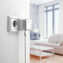 Zodra de dLAN-knop groen brandt, is de adapter klaar voor gebruik