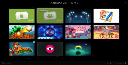Leap Motion Airspace