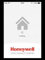 Honeywell evohome app startscherm