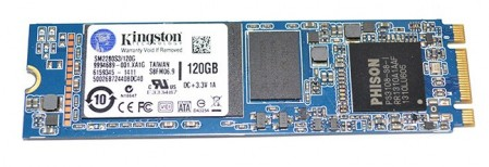 Kingston M.2 ssd 120GB