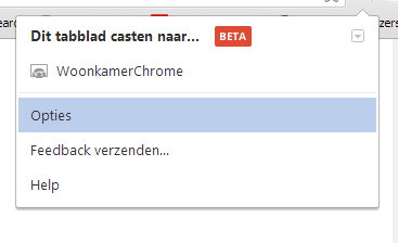 Je kunt een willekeurige Chrome-tablet naar Chromecast sturen