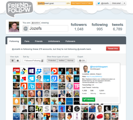 Friend or Follow
