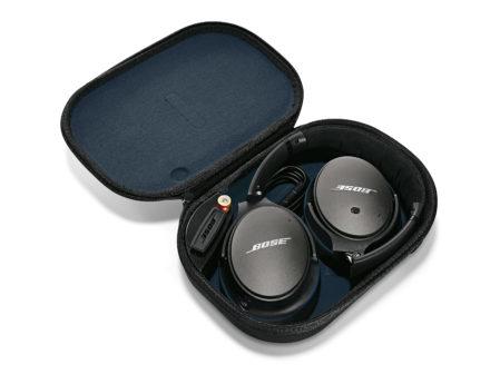 Bose QC25 hoofdtelefoon en draagetui