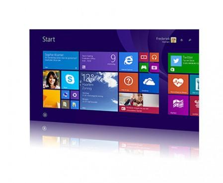 Een tablet met Windows 8.1 update