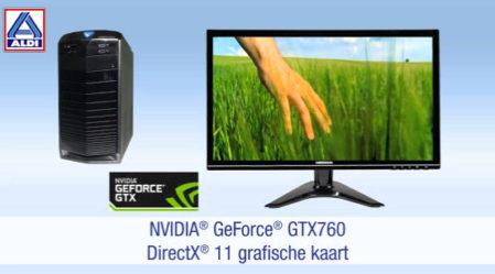 Met een NVidia GeForce GTX 760 videokaart