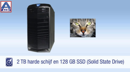 Harde schijf én SSD