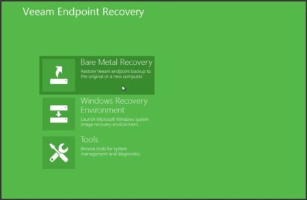 Veeam Endpoint Backup Free Edtion