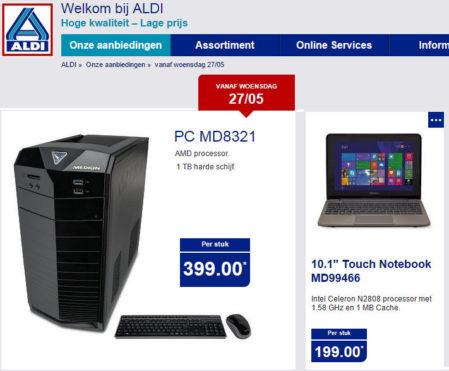 Een netbook én een desktop in de aanbieding!