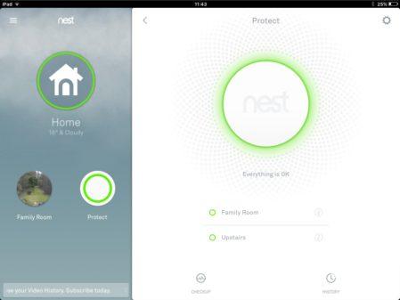 Nest app iOS