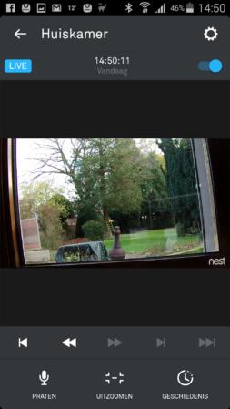 Nest Cam app