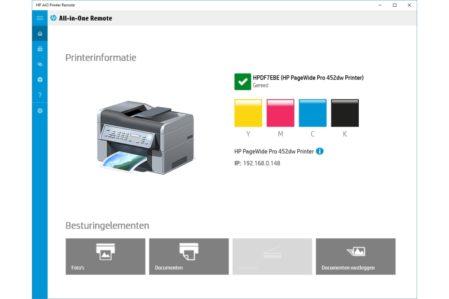 HP AiO Printer Remote Windows-app
