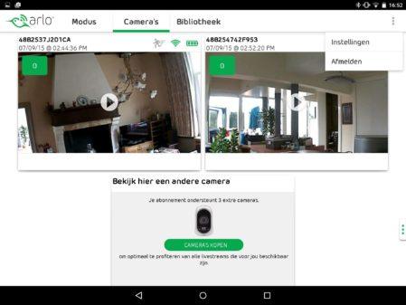 De Arlo Android-app