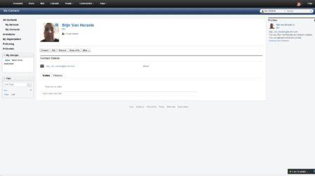IBM Verse Contacten