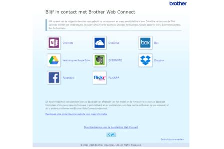 Brother web connect