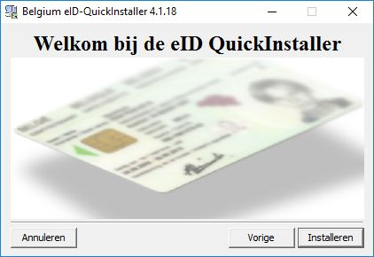 e-id software installatie
