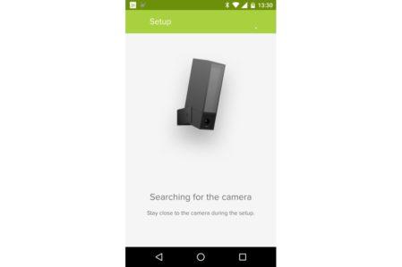 Netatmo Presence setup via app