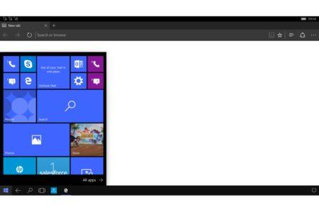 Windows Continuum Desktop