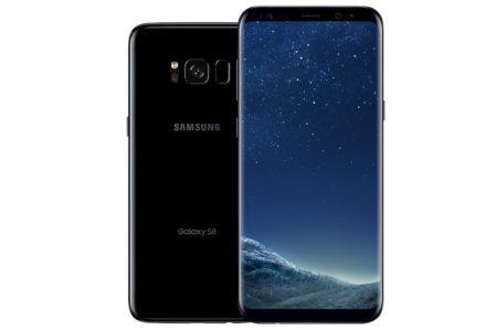 Samsung Galaxy S8 (achterkant) en S8+ (voorkant)