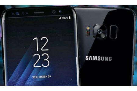 Samsung Galaxy s8/s8+ aod, flits, camera en vingerafdruksensor